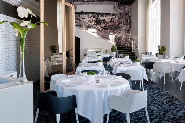 Restaurant - Hôtel Cures Marines Thalasso & Spa 5* Trouville France Normandie