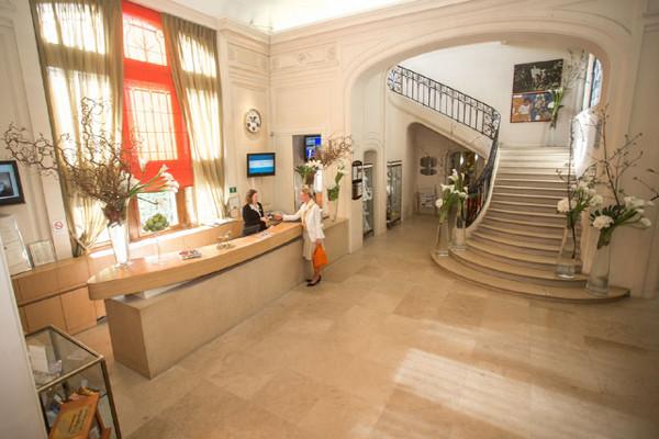 Reception - Hôtel Chateau de Montvillargènne 4* Chantilly France Picardie