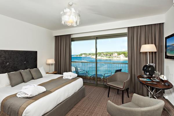 Chambre - Hôtel Ile Rousse Thalazur Bandol 5* Bandol France Provence-Cote d Azur