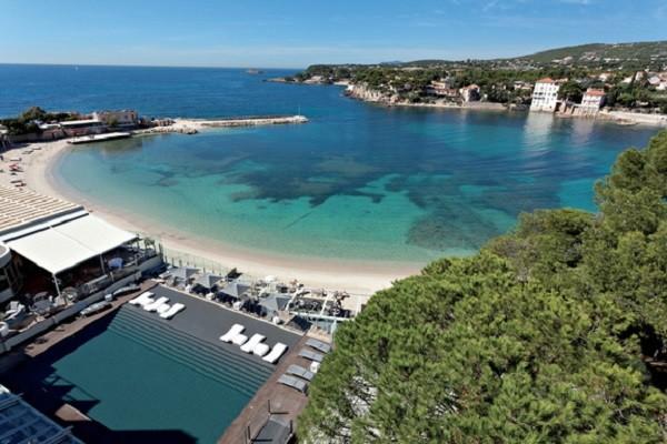 Vue panoramique - Hôtel Thalazur Ile Rousse 5* Bandol France Provence-Cote d Azur