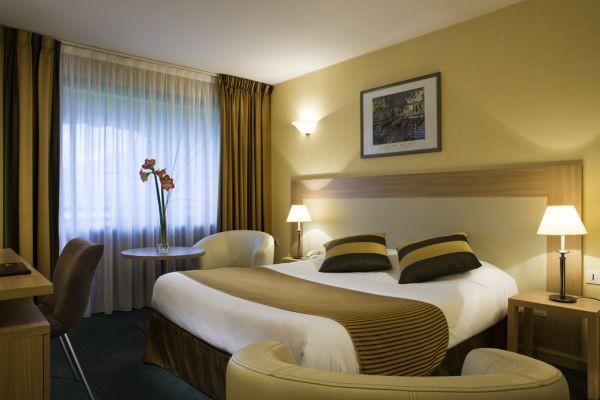 Chambre - Hôtel La Villa Marlioz 3* Aix Les Bains France Rhone-Alpes