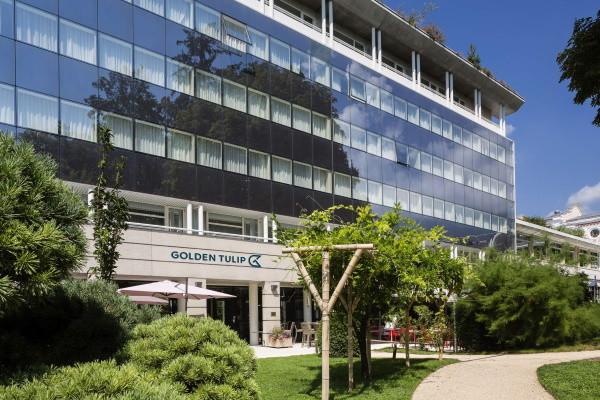 Facade - Hôtel Golden Tulip Aix Les Bains 4* Aix Les Bains France Rhone-Alpes