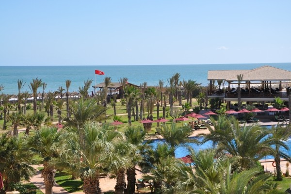 Vue panoramique - Hôtel Hasdrubal Prestige 5* sup Djerba Tunisie