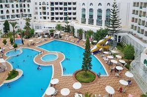 Tunisie-Tunis, Hôtel Mouradi El Menzah