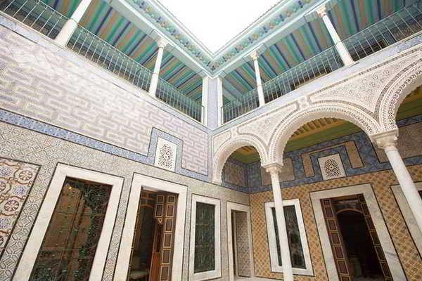Facade - Palais Bayram 5* Tunis Tunisie