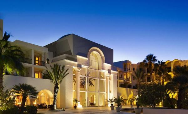 Facade - The Residence 5* Tunis Tunisie