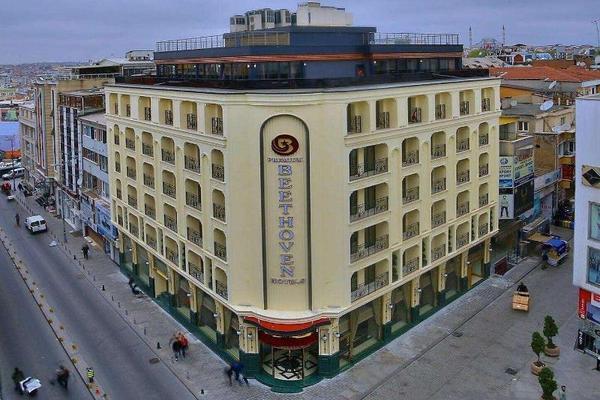 Facade - Beethoven Premium Hotel 3* Istanbul Turquie