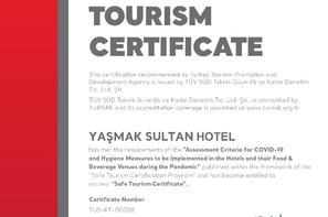 Turquie-Istanbul, Hôtel Yasmak Sultan