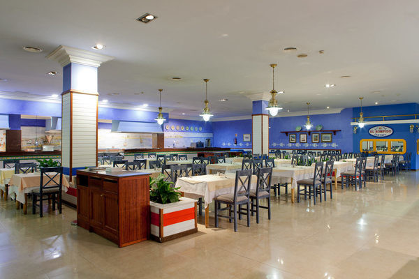 Restaurant - Club Jumbo Playacartaya 4* Faro Andalousie