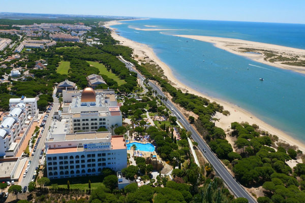 Vue panoramique - Club Jumbo Playacartaya 4* Faro Andalousie