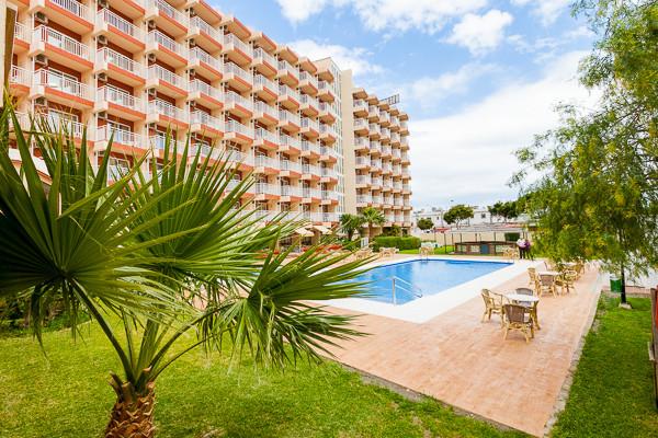 Piscine - Hôtel Balmoral 2* Malaga Andalousie
