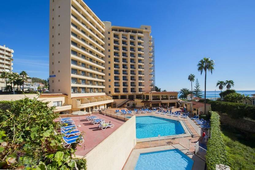 Piscine - Hôtel Globales Gardenia 3* Malaga Andalousie