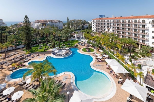 Piscine - Hôtel H10 Andalucia Plaza 4* Malaga Andalousie