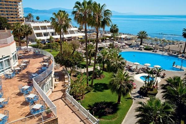 Piscine - Hôtel Riu Nautilus 4* Malaga Andalousie