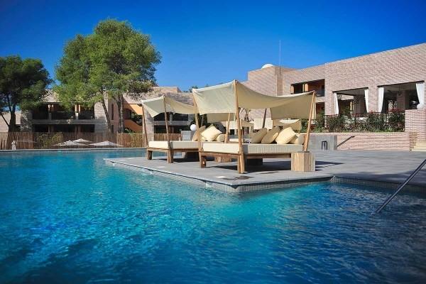 Piscine - Hôtel Vincci Estrella del mar 5* Malaga Andalousie