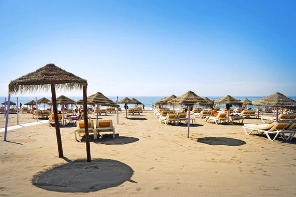 Plage - Hôtel Iberostar Malaga Playa 4* Malaga Andalousie