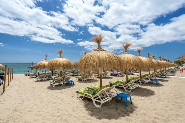 Plage - Hôtel Occidental Fuengirola 4* Malaga Andalousie