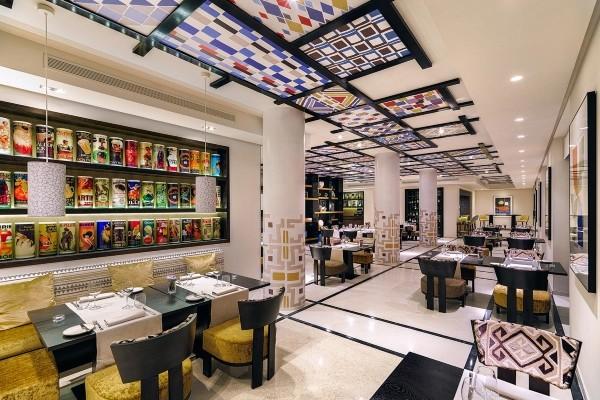 Restaurant - Hôtel H10 Andalucia Plaza 4* Malaga Andalousie