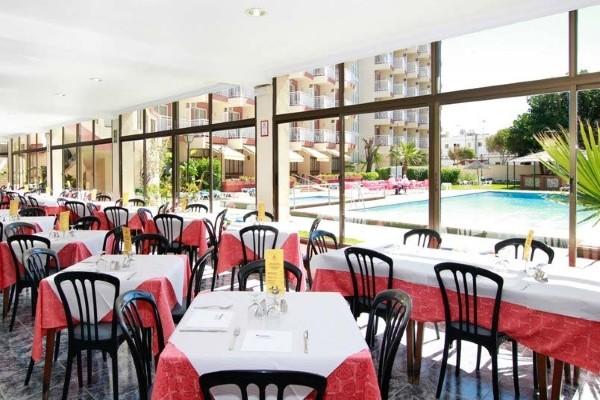 Restaurant - Hôtel Medplaya Balmoral 2* Malaga Andalousie