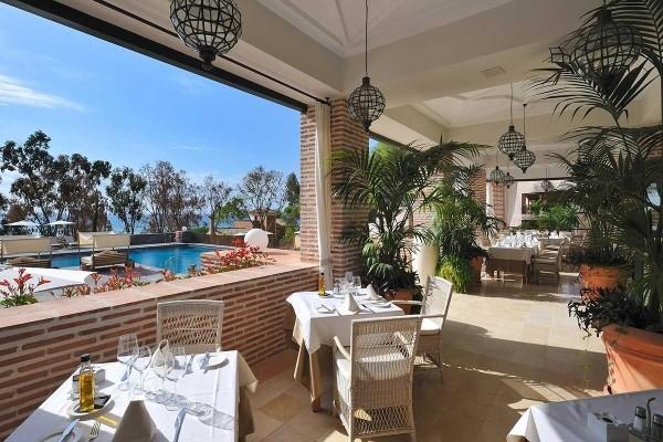 Restaurant - Hôtel Vincci Estrella del mar 5* Malaga Andalousie