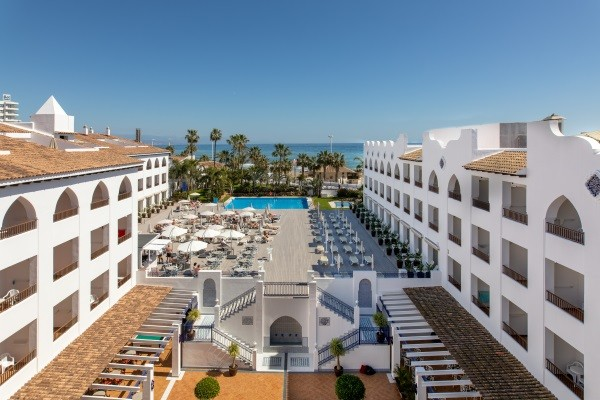 Vue panoramique - Mac Puerto Marina Benalmadena 4* Malaga Andalousie