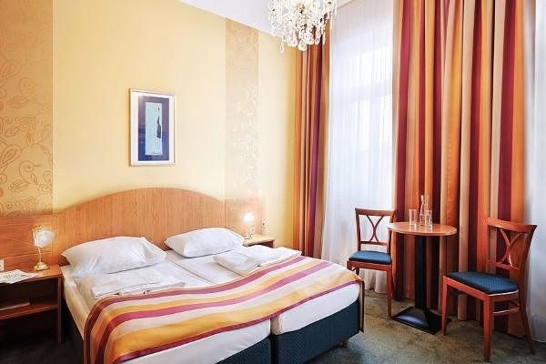 Chambre - Hôtel Réveillon en liberté - Hôtel Donauwalzer 3* Vienne Autriche
