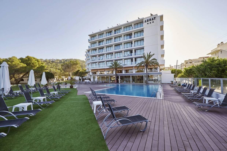 Piscine - Hôtel Abrat 3* Ibiza Baleares