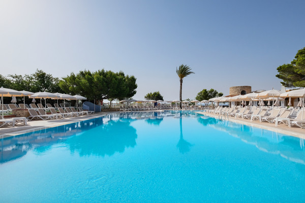 Piscine - Hôtel Azuline Cala Martina 3* Ibiza Baleares
