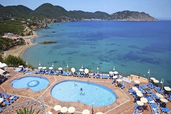 Piscine - Hôtel Invisa Figueral Resort Cala Blanca & Verde 4* Ibiza Baleares