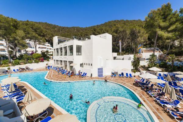Piscine - Hôtel Montemar 3* Ibiza Baleares