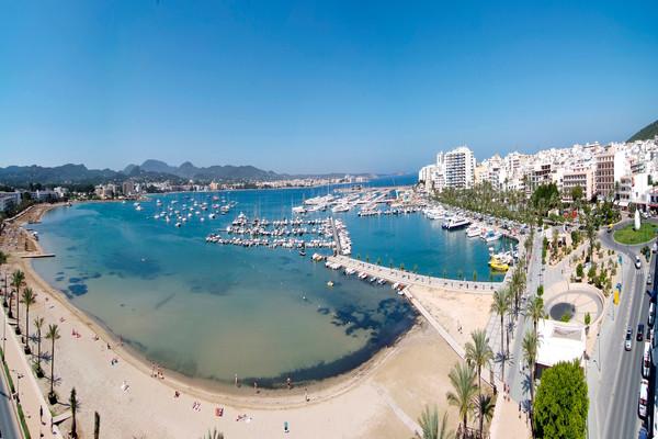 Plage - Hôtel Invisa Es Pla 3* Ibiza Baleares