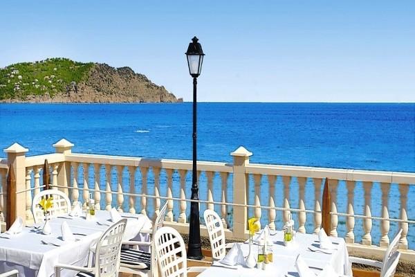 Terrasse - Hôtel Invisa Figueral Resort Cala Blanca & Verde 4* Ibiza Baleares