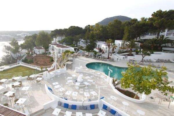 Vue panoramique - Hôtel BG Portinatx Beach Club 4* sup Ibiza Baleares