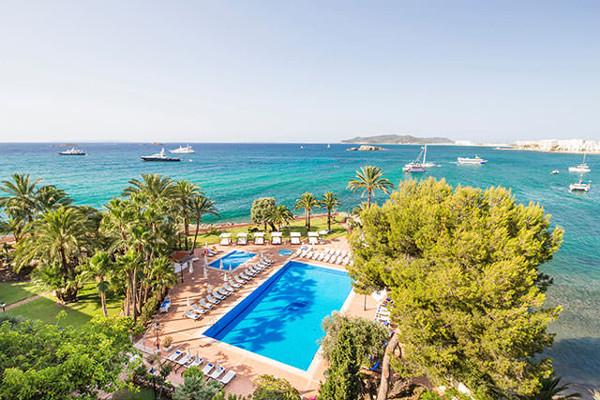 Vue panoramique - Hôtel THB Los Molinos 4* Ibiza Ibiza