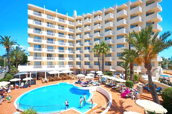 Facade - Seasun Siurell 3* Majorque (palma) Baleares