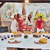 Cocktail FRAM - Framissima Blau Punta Reina Family Resort