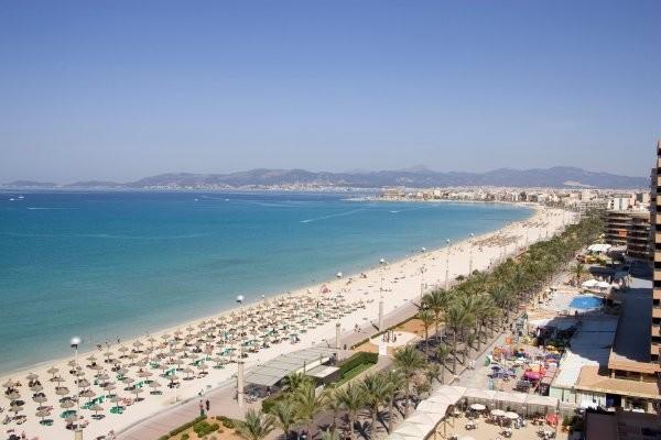 Plage - Hôtel HM Ayron Park Les Meravelles 3* Majorque (palma) Baleares