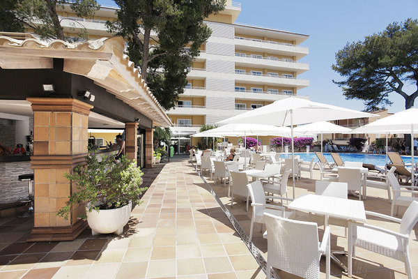 Terrasse - Hôtel Montecarlo Grupotel 4* Majorque (palma) Baleares