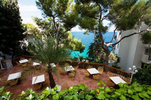 Terrasse - Hôtel Roc Illetas 4* Majorque (palma) Baleares