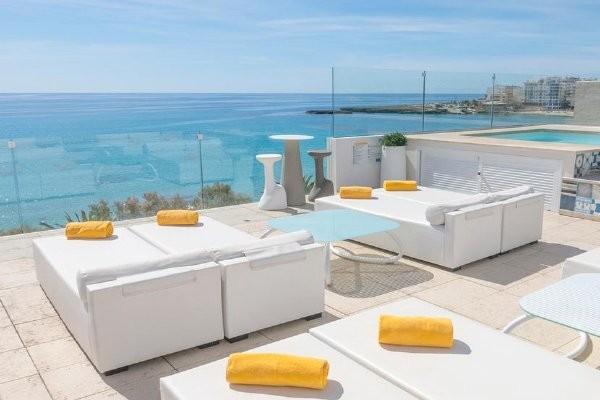 Terrasse - Hôtel Seasun Fona 4* Majorque (palma) Baleares