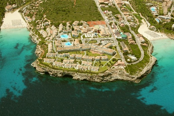 Vue panoramique - Hôtel Blau Punta Reina Resort 4* Majorque (palma) Baleares