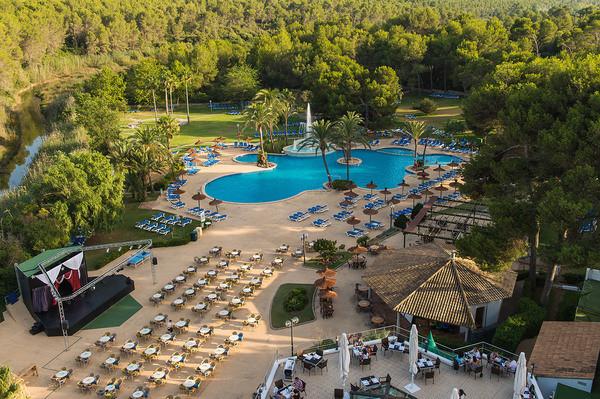 Vue panoramique - Hôtel Exagon Park 4* Majorque (palma) Baleares
