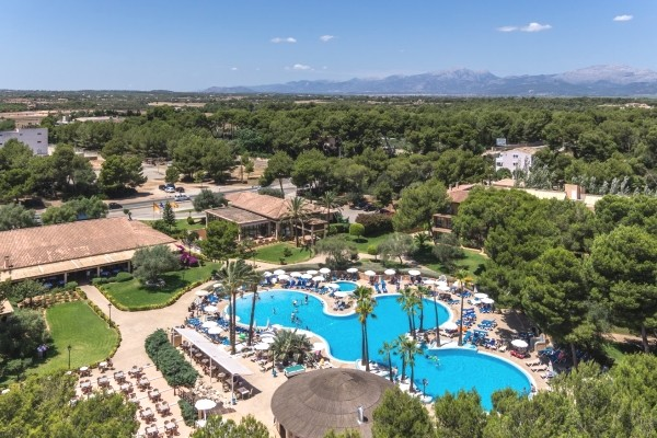 Vue panoramique - Hôtel Fergus Club Vell Mari 4* Majorque (palma) Baleares