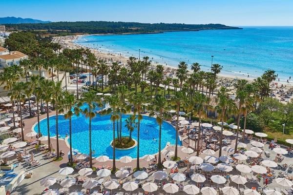 Vue panoramique - Hôtel Hipotels Mediterraneo 4* Majorque (palma) Baleares