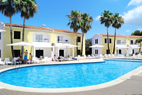 Piscine - Hôtel Cales de Ponent Apartments 2* Minorque Baleares