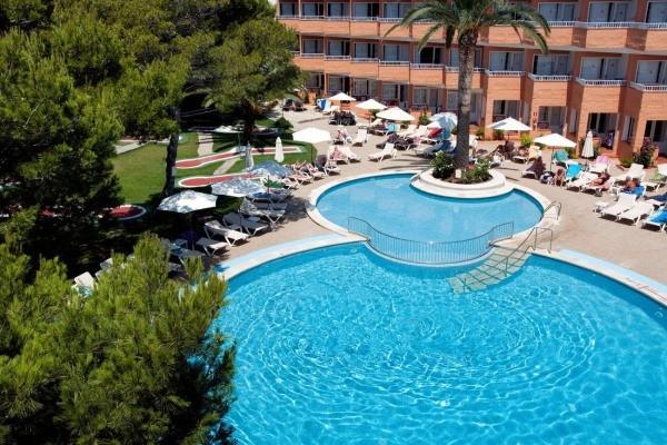 Piscine - Hôtel Xaloc Playa 3* Minorque Baleares