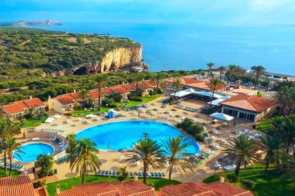 Vue panoramique - Hôtel Bluerooms Las Palmeras 3* Minorque Baleares
