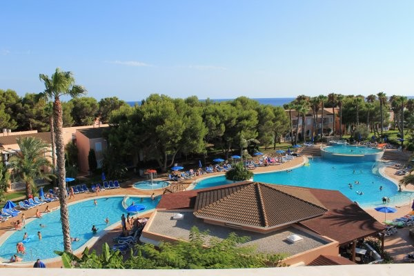 Vue panoramique - Hôtel Princesa Playa 4* Minorque Baleares
