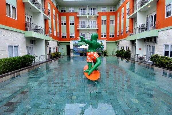 Piscine - Hôtel Harris Riverview Kuta 3* sup Denpasar Bali