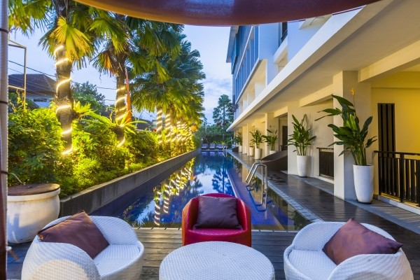 Piscine - Hôtel Harris Seminyak 4* Denpasar Bali